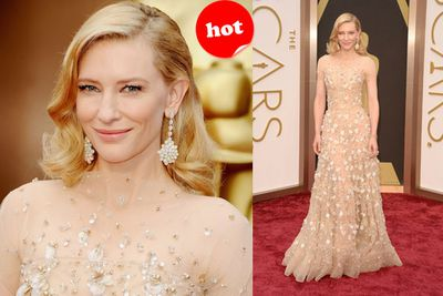 "All together now, ""WOW!""<br/><br/>Aussie beauty Cate Blanchett sure knows how to take an unusual dress and make it look simply ethereal. *Round of applause*"