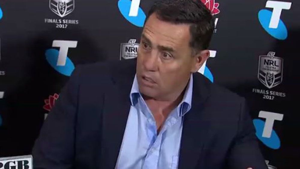 Cronulla coach Shane Flanagan's lists referee errors from NRL final loss to North Queensland