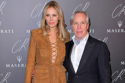 Fashion boss Tommy and his wife Dee were among the celeb attendees.