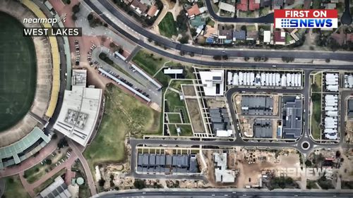 Adelaide is experiencing a population explosion as developers replace large blocks with medium to high level density housing. Picture: 9NEWS