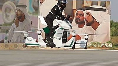 Dubai police set to patrol on Star Wars-like flying hover bikes