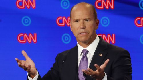 John Delaney has tried to create a following within the moderate wing of the Democratic party.