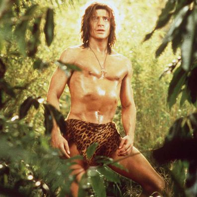 Brendan Fraser was the breakout star in George of the Jungle.