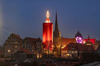 'World's Biggest Christmas Candle' in Germany