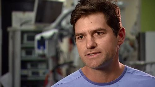 Reuben Lichter had a 3D-printed tibia implanted.