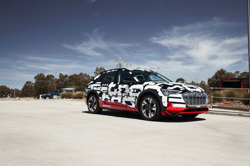 The Audi e-tron will hit showrooms in Australia in mid-2019.