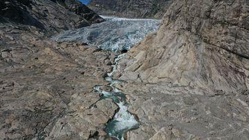 Nigard glacier (Nigardsbreen), Norway