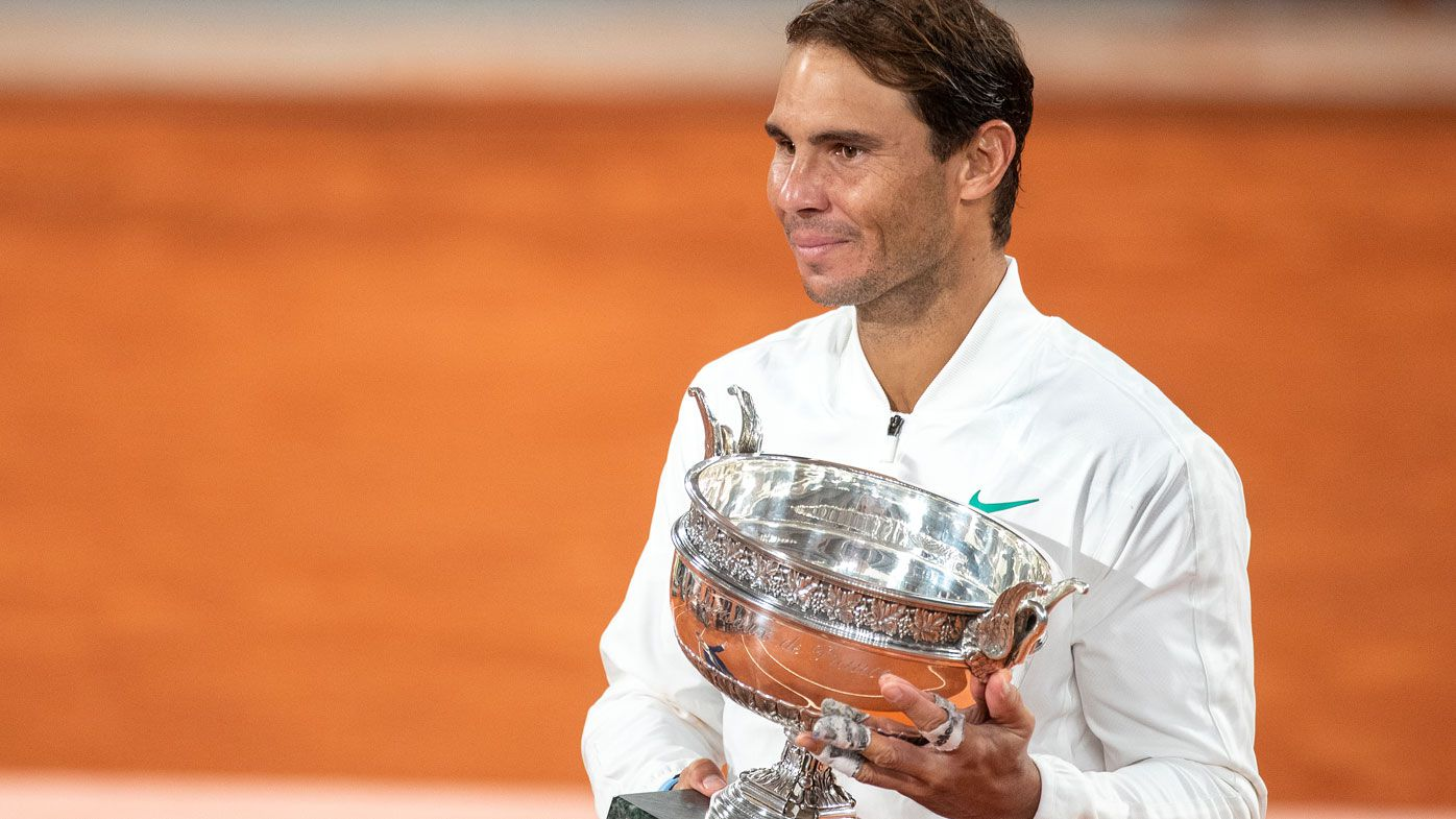 Rafael Nadal claimed the Roland Garros title in 2020. (Getty)