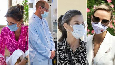 Royals who have chosen to wear a face mask during the coronavirus pandemic