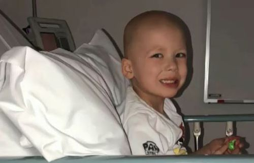 Jaxon Kaplatzis has undergone 11 months of intensive treatment for a rare type of leukaemia. He is believed to be the only one in the country with the condition.