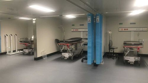Canberra's new pop-up emergency department.