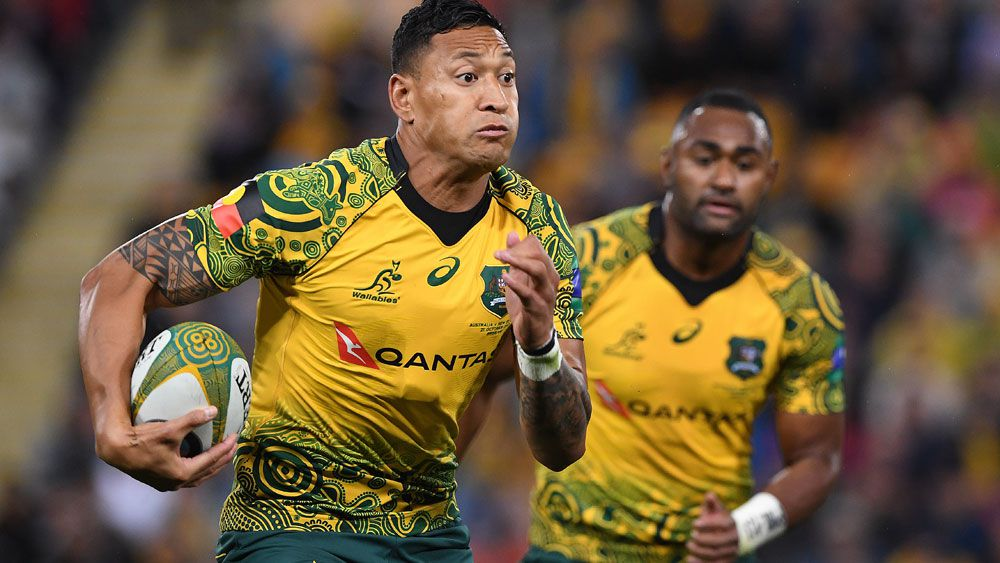Wallabies star Israel Folau reportedly ties the knot on the same day Same Sex Marriage approved