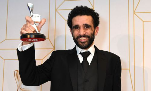 Hazam Shammas took home the Logie for Best Supporting Actor for his role in SBS drama Safe Harbour. Image: AAP
