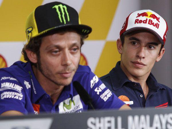 Rossi-Marquez feud 'poison' for MotoGP