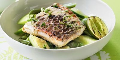 Barramundi with Thai dressing