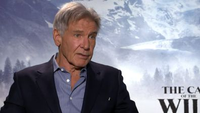 Harrison Ford reveals his wild side