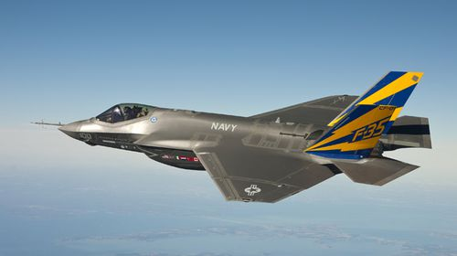 Australia is buying 72 of the F-35 stealth fighters for the RAAF.
