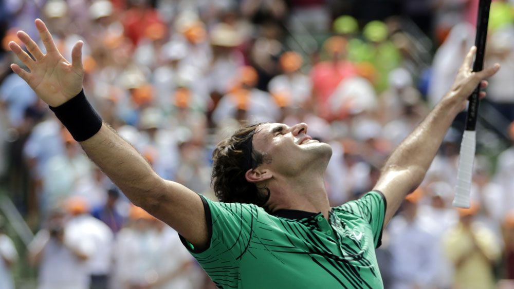 Roger Federer moves to world No.4 after beating Rafael Nadal in Miami