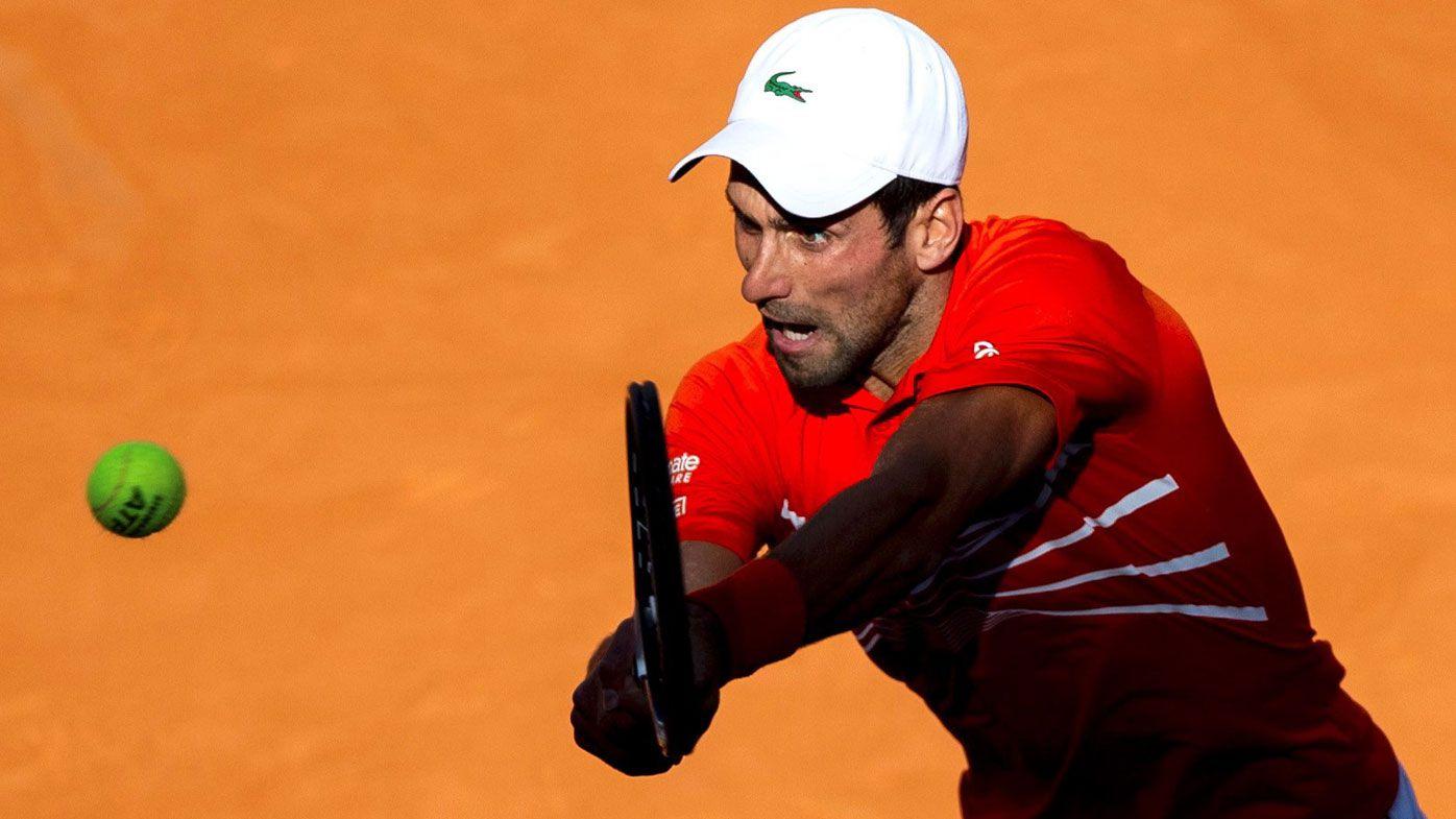 Novak Djokovic grinds into Madrid Open final but Rafael Nafal upset in historic turn