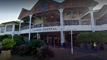 One person is in custody following the 'suspicious' death of a man at Cairns Central shopping centre this morning.