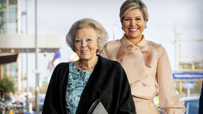 Former Queen Beatrix of the Netherlands