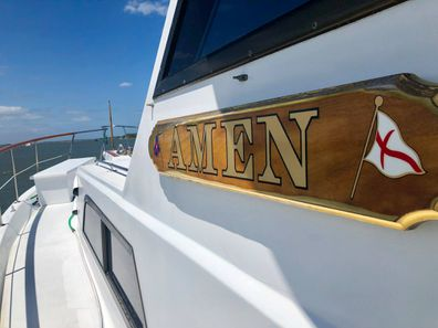 Teens stranded at sea rescued by boat with strangely prophetic name