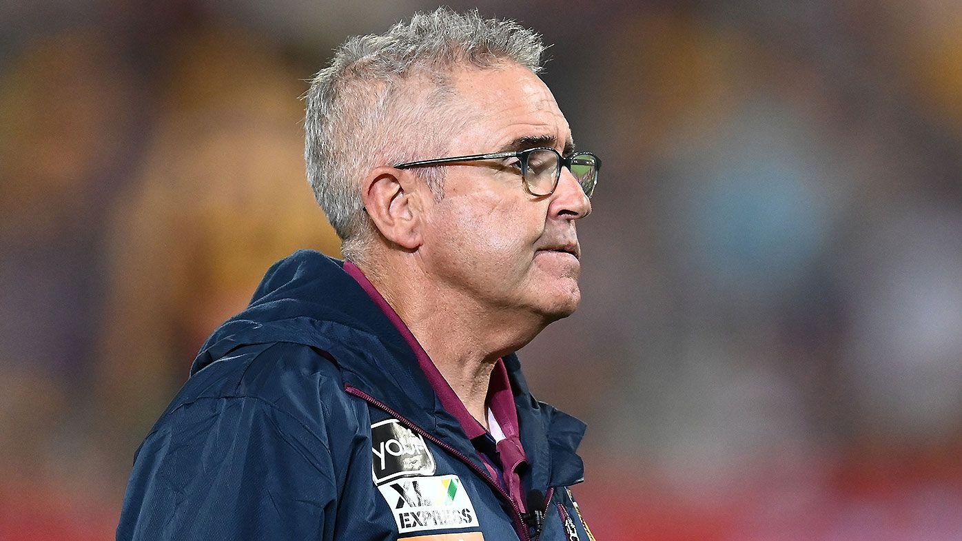 Brisbane Lions coach Chris Fagan praised for classy address following preliminary final loss