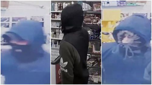 Three robbers remain on the run. (Victoria Police)