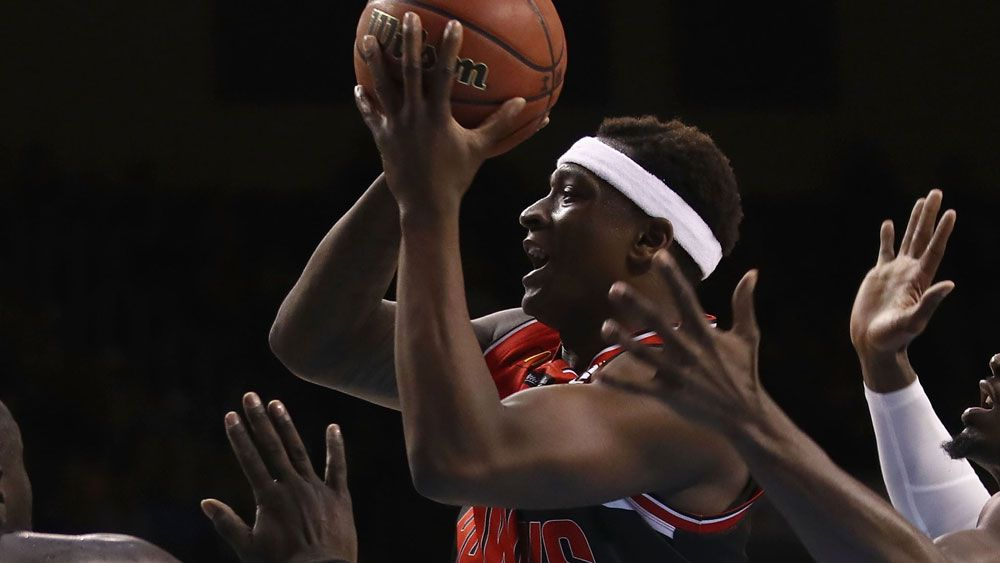Marvelle Harris and the Illawarra Hawks were too good for Melbourne United. (AAP)