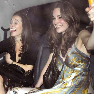 Clubbing with Pippa, February 2007