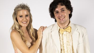 Ashleigh and Mitchell Beauty and the Geek 2021 BATG