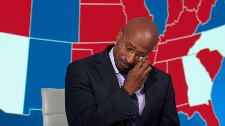 CNN pundit: Van Jones brought to tears by Biden victory