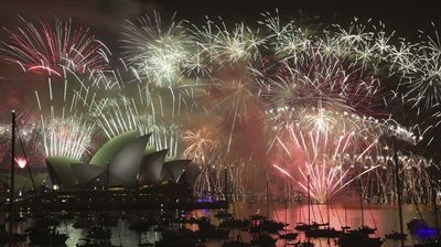 In all, more than 7.5 tonnes of fireworks were used in Sydney overnight. (AAP)