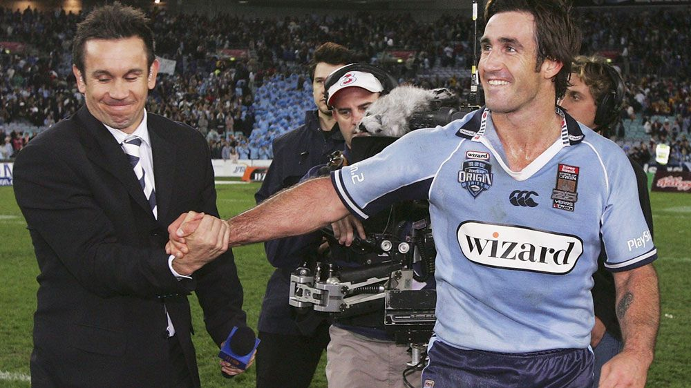 Matthew Johns calls for brother 'Joey' to coach the Blues in 2018 State of Origin