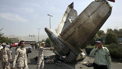 At least 38 dead in Iran plane crash