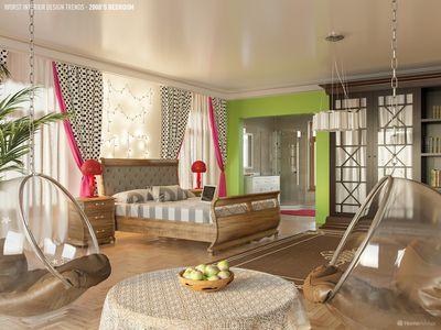 Bedroom of the 2000s