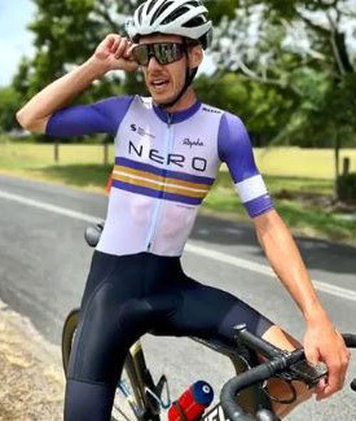 Injured cyclist Ben Carman.