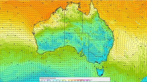 190507 Weather forecast Australia two cold fronts snow hail rain storms multiple states News BOM
