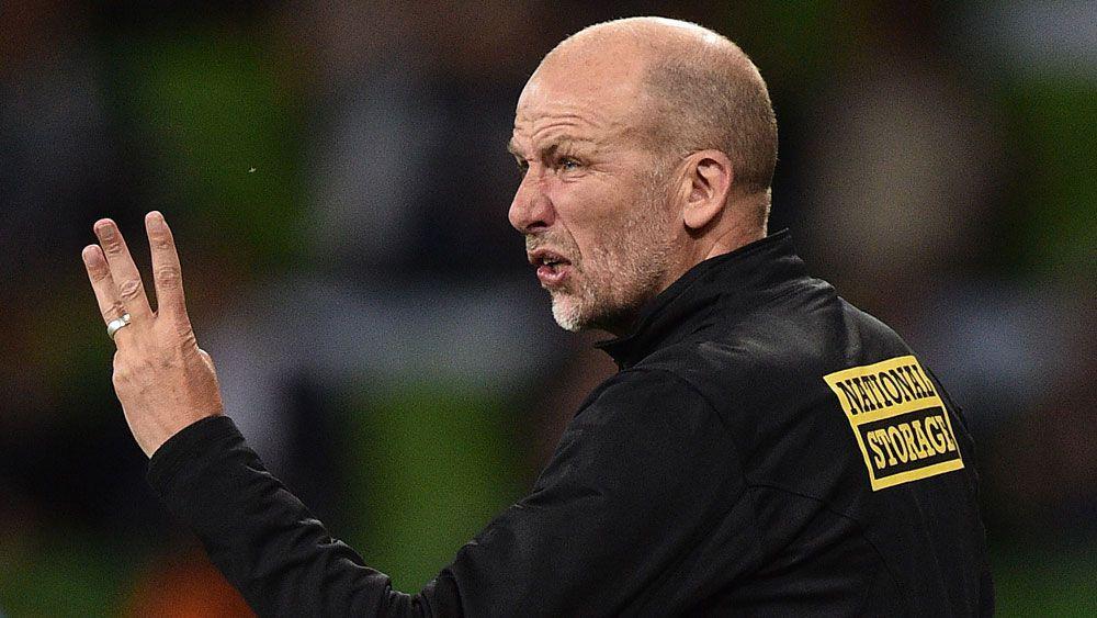Perth Glory coach Kenny Lowe. (AAP)