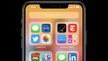 Apps will automatically be organised thanks to the new iOS 14 feature.