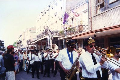 <strong>French Quarter, New Orleans in 1996</strong>