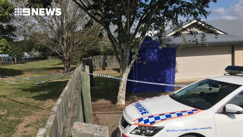 The victim's brother lives in the home. Picture: 9NEWS