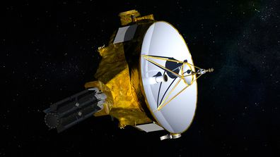 """Named """"New Horizons"""", the unmanned spacecraft departed Earth in 2006 to explore Pluto and its associated belt of moons."""