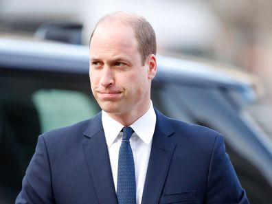 It's business as usual for the Duke of Cambridge.