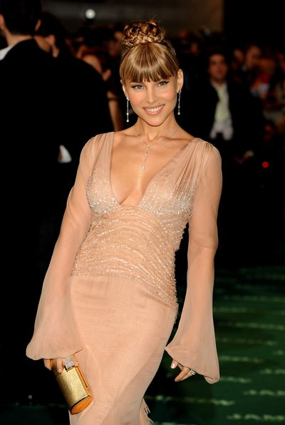 Elsa Pataky at the Goya Cinema Awards Ceremony in Madrid, 2008