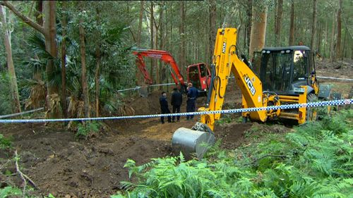Bones are found at the search site just hours before the search was set to be called off a second time.