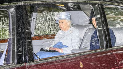Queen and Sophie, Countess of Wessex, at Balmoral, August 2019