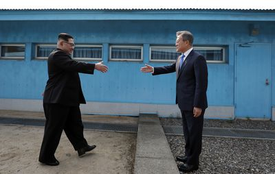 <strong>Inter-Korea summit, April 27<br> </strong>
