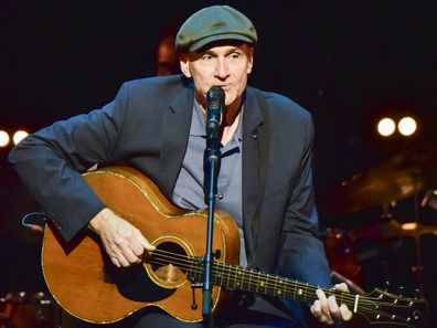 James Taylor performing in 2018