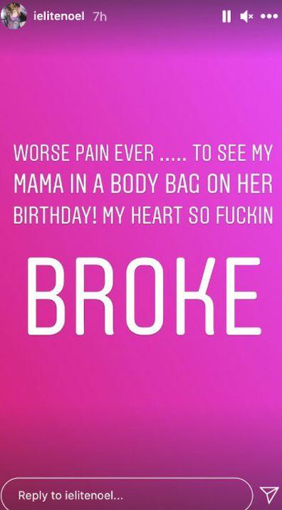 Keyshia Cole's mother dies on her birthday.